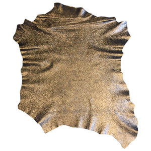 Metallic Genuine Leather Hides for Sale
