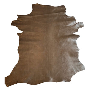Brown Genuine leather hides for crafting or upholstery projects