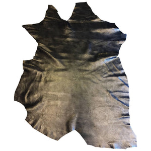Genuine Metallic Leather Hides for Sewing and Arts