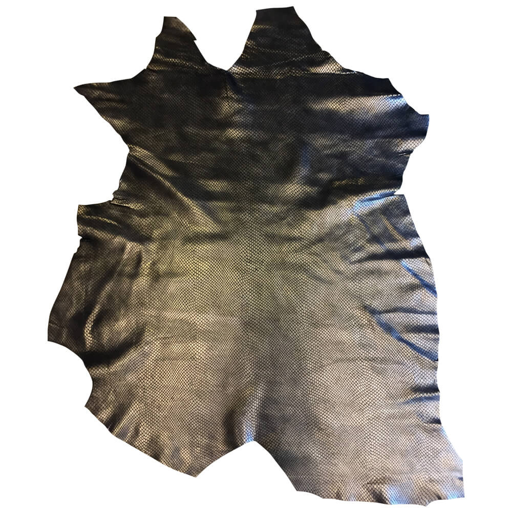 On Sale Genuine Metallic Leather Hides for Sewing and Arts