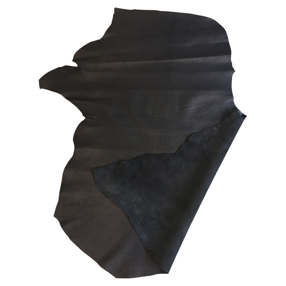SALE Black Leather Hides DIY Upholtery Projects