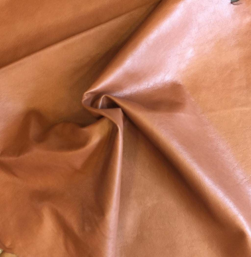On Sale Brown Genuine Leather Hides for Gifts, Crafting and Upholstery Repair
