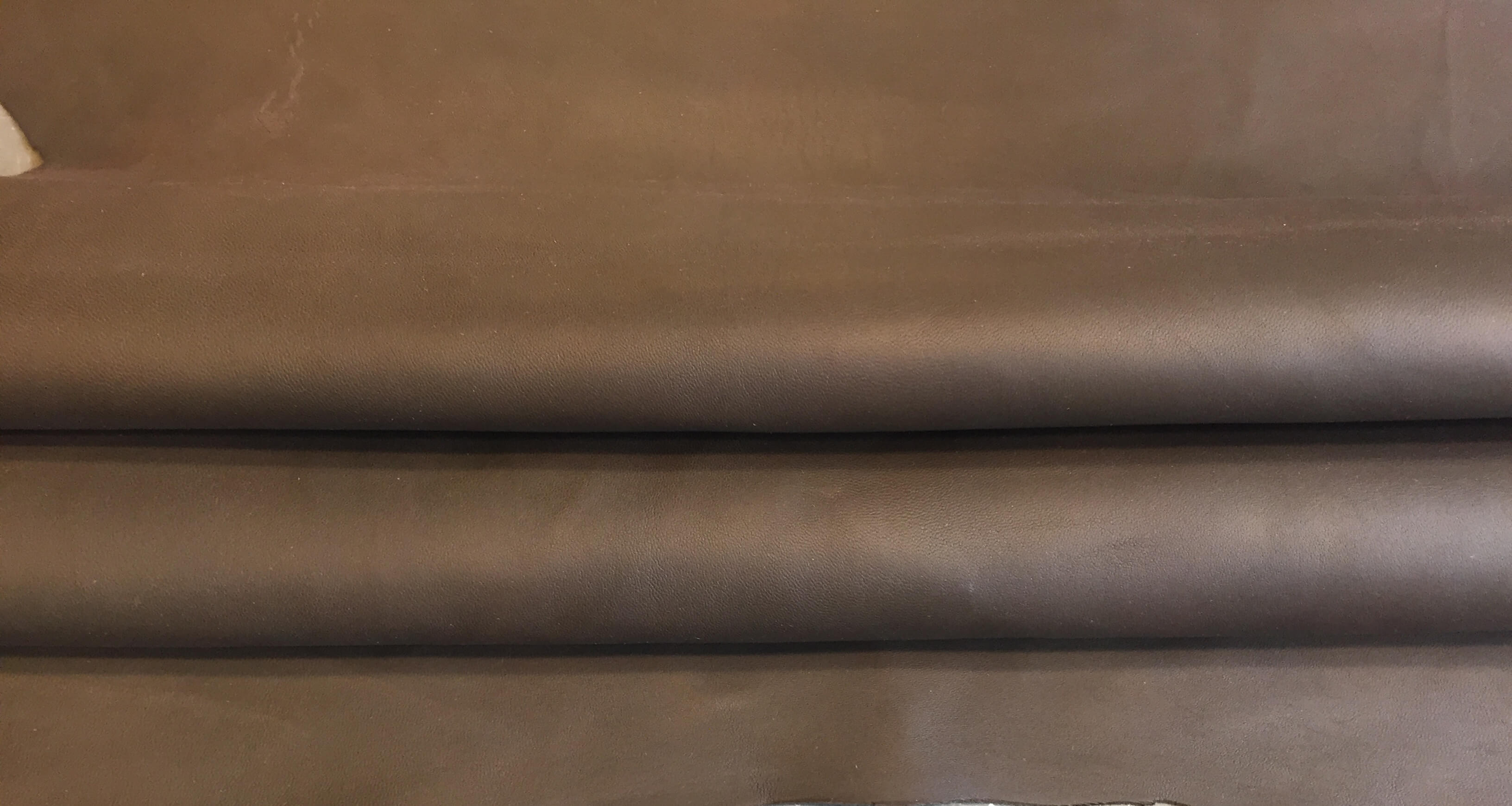 Brown Genuine Leather Hides for Crafting and Sewing