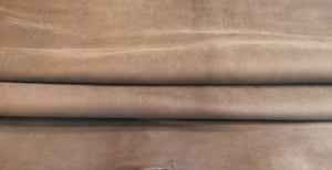 Cafe Brown Genuine Leather Hides for Crafting and Sewing Fabric #44