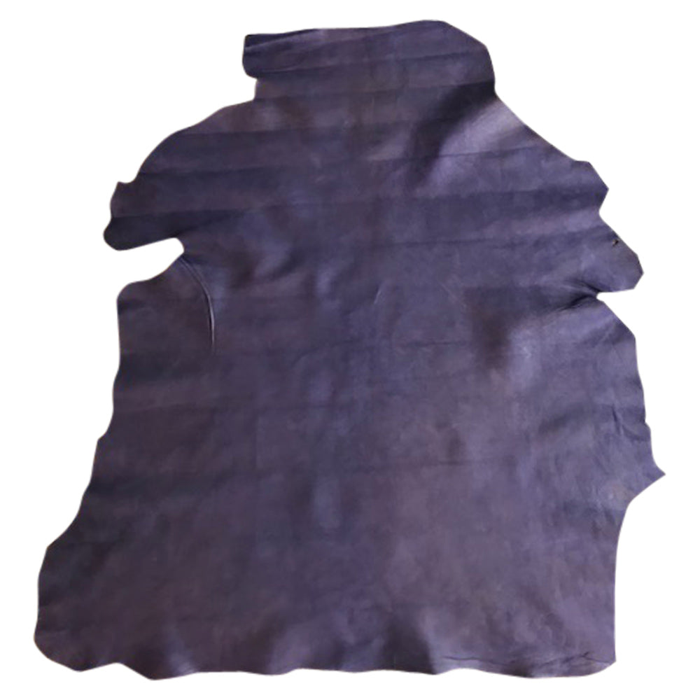 Purple genuine leather hides for sale