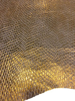 Lizard Embossed Genuine Leather Skins for Sewing
