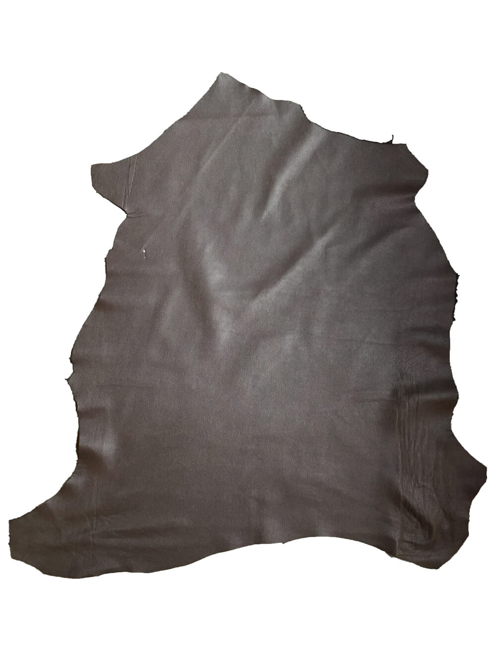 SALE Brown genuine lambskin leather in full leather hides with textured finish