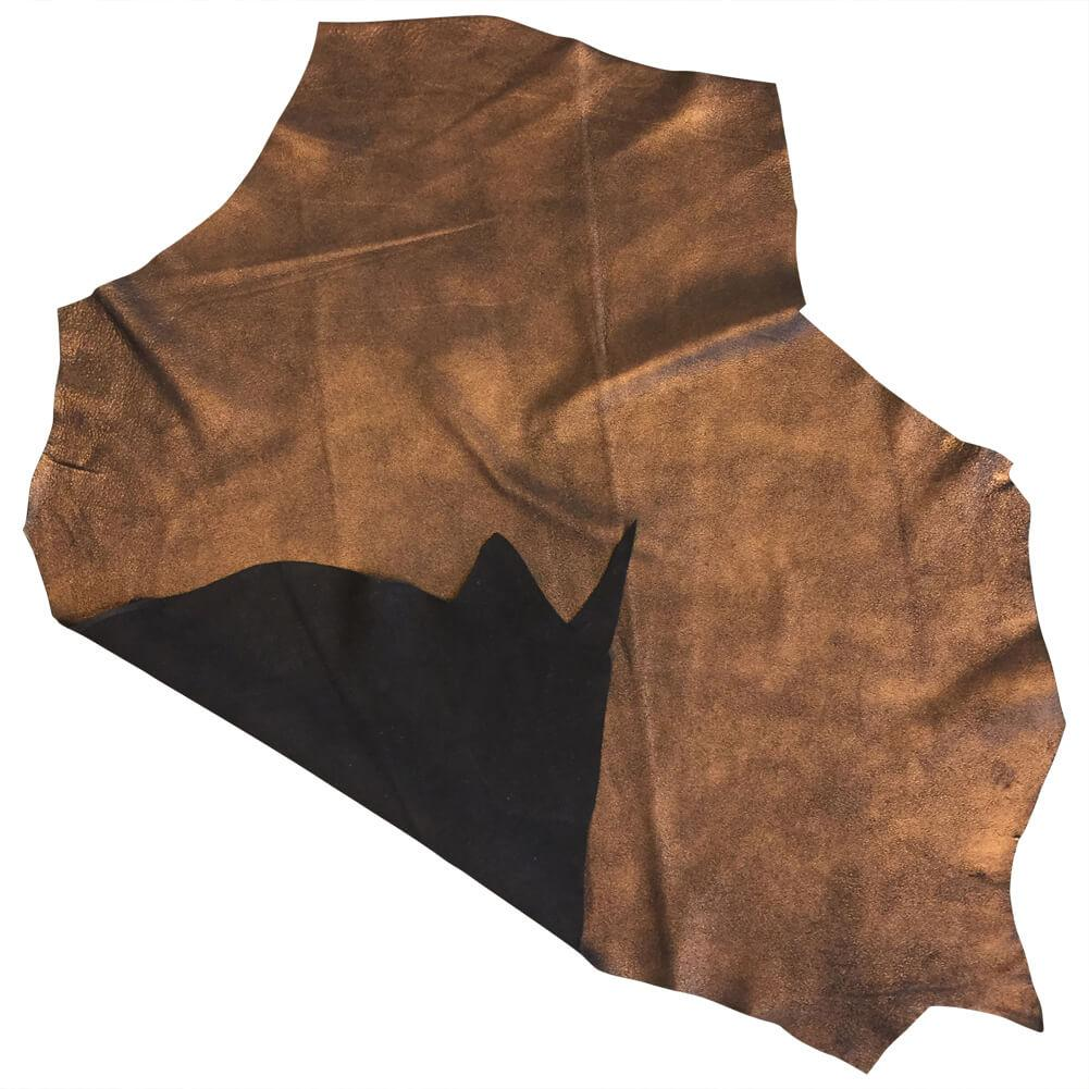 SALE Copper Metallic Genuine Leather Hides for Crafting