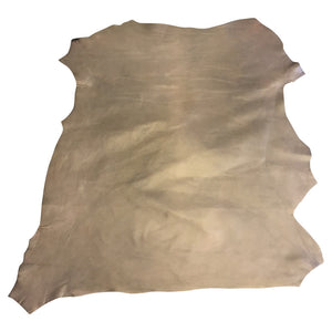 Lambskin Authentic Genuine Leather Hide Pearlescent Skin Tanned Gold Sheepskin Hides