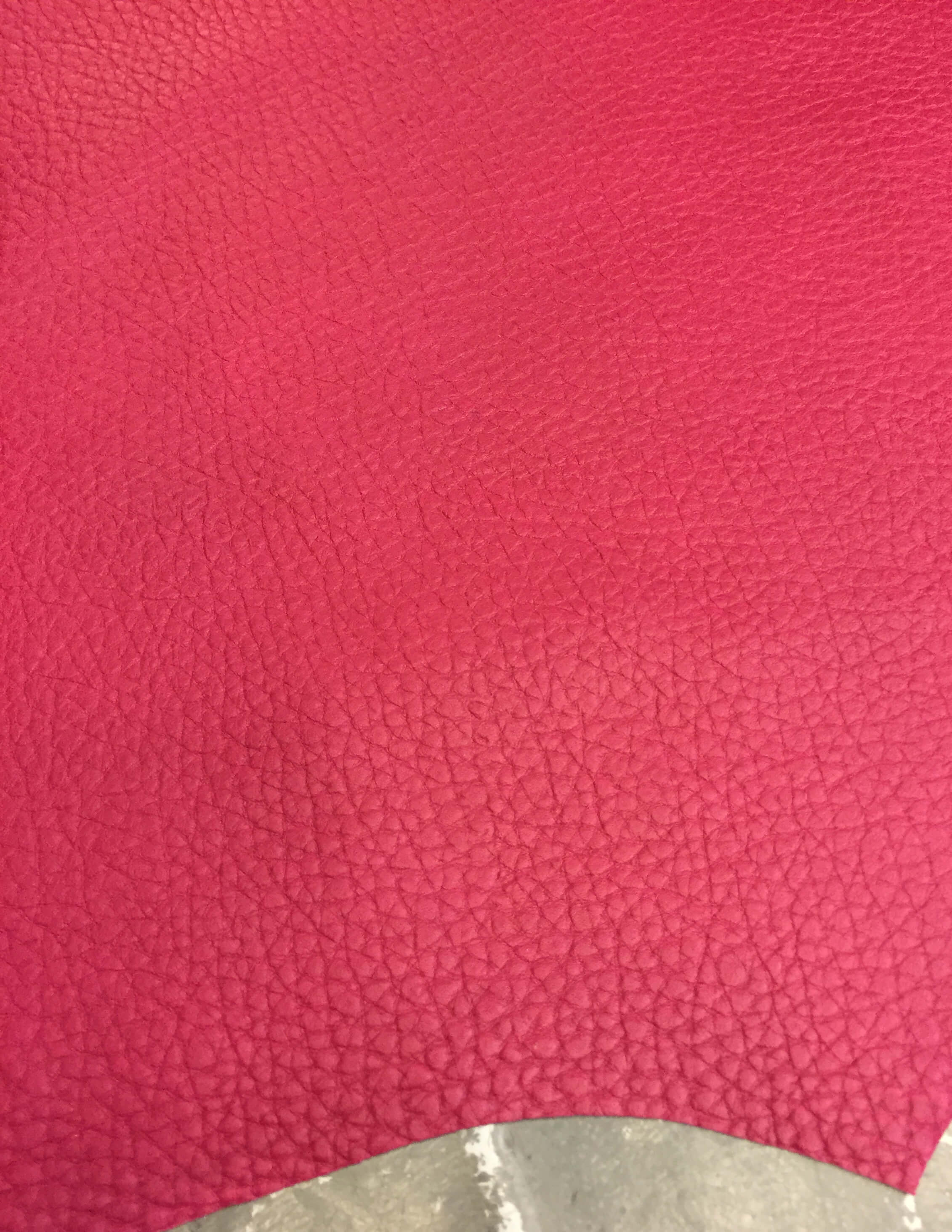 Pink Lambskin Genuine Nappa Leather Animal Hides Craft Sheepskin Material