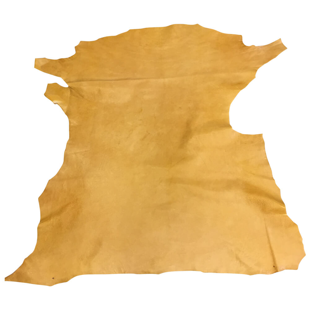 Lambskin Authentic Camel color Genuine Leather Hide Rustic Skin Tanned Sheepskin Hides