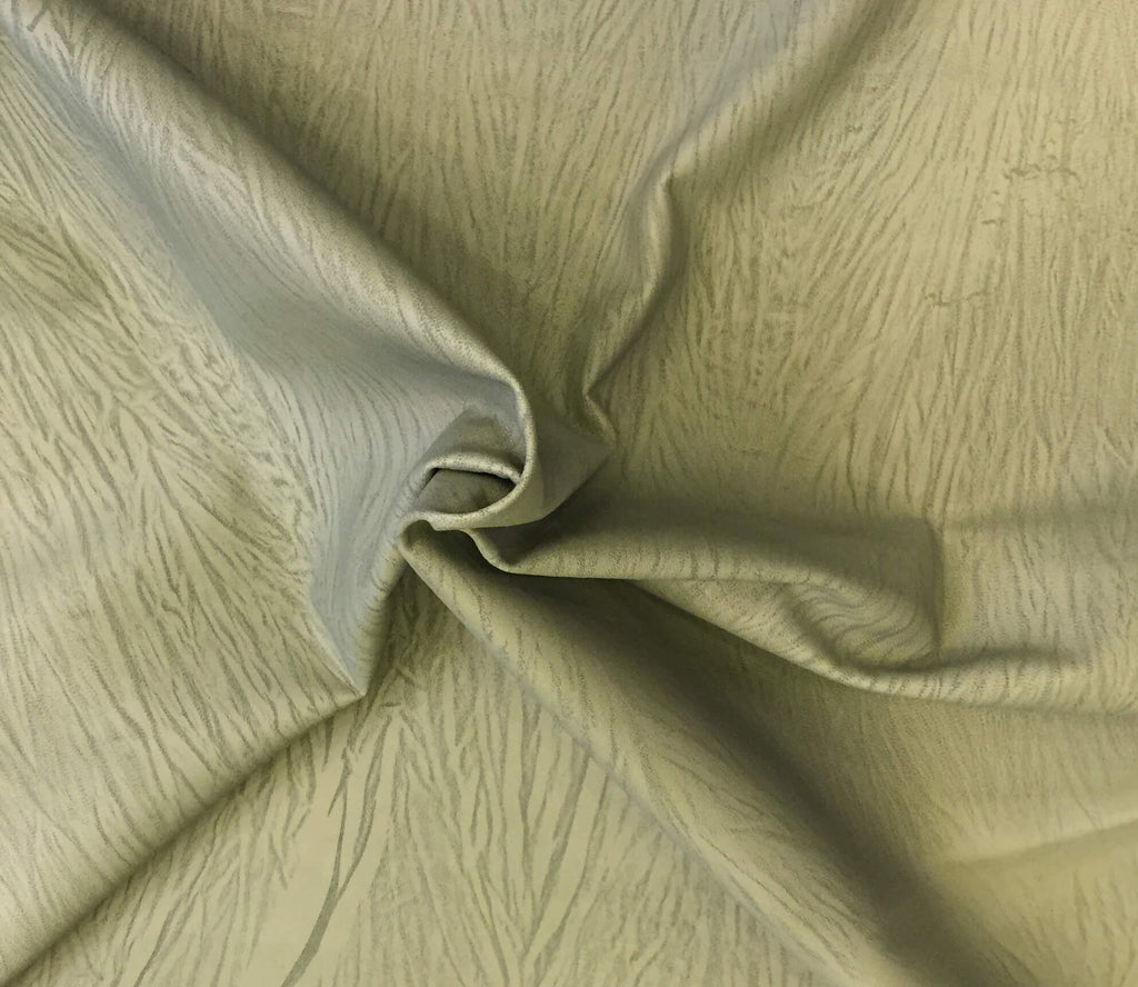 SALE Lambskin Genuine Nobuck Leather Animal Hides Green Suede Tanned Craft Sheepskin Fabric