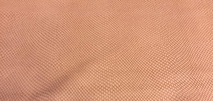Pink Reptile Embossed Soft Lambskin Leather Hide Perfect Craft Material or DIY Supply