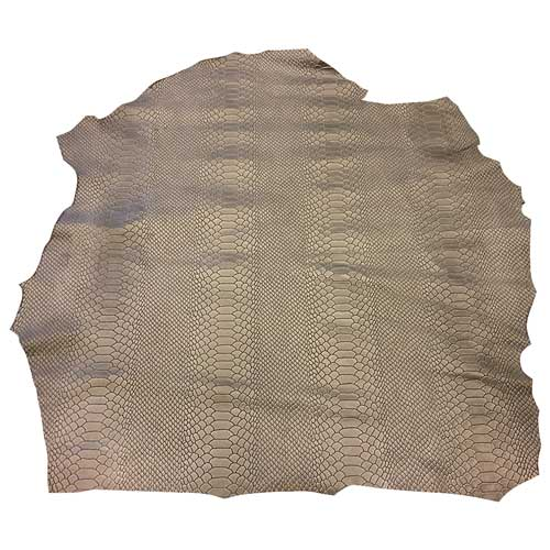 full-leather-hides-snakeskin-embossed-pattern-genuine-tanned-leathers-fs950