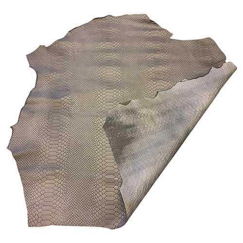 grey-snakeskin-embossed-lambskin-genuine-leather-fabric-fs950