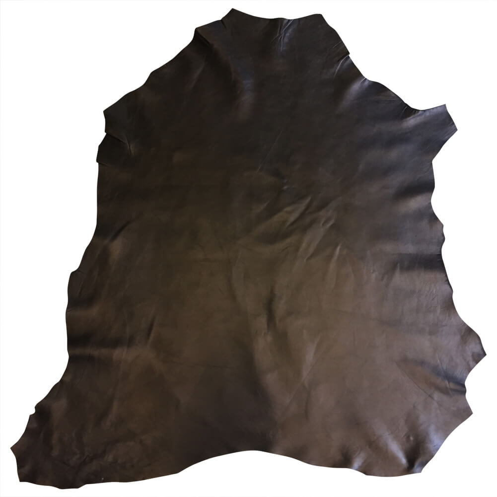 Black Genuine Lambskin Leather Hides Rustic Soft Finish Great Craft DIY Fabric