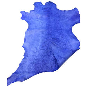 Buy Blue Genuine Leather hides