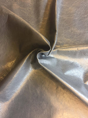 Lambskin Authentic Genuine Leather Hide Rustic Skin Tanned Dark Grey Sheepskin Hides