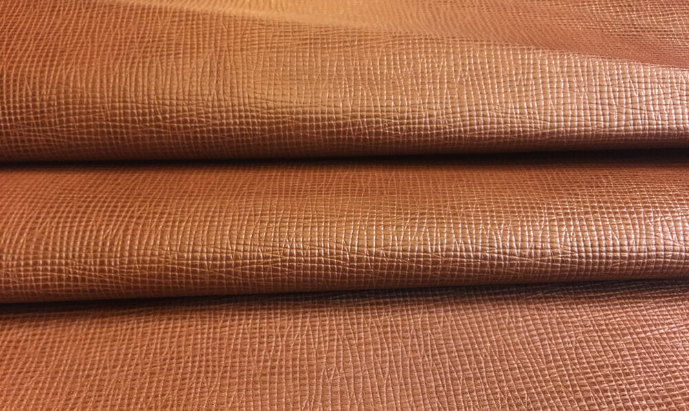 Brown Genuine Goatskin Leather Hides for Crafting