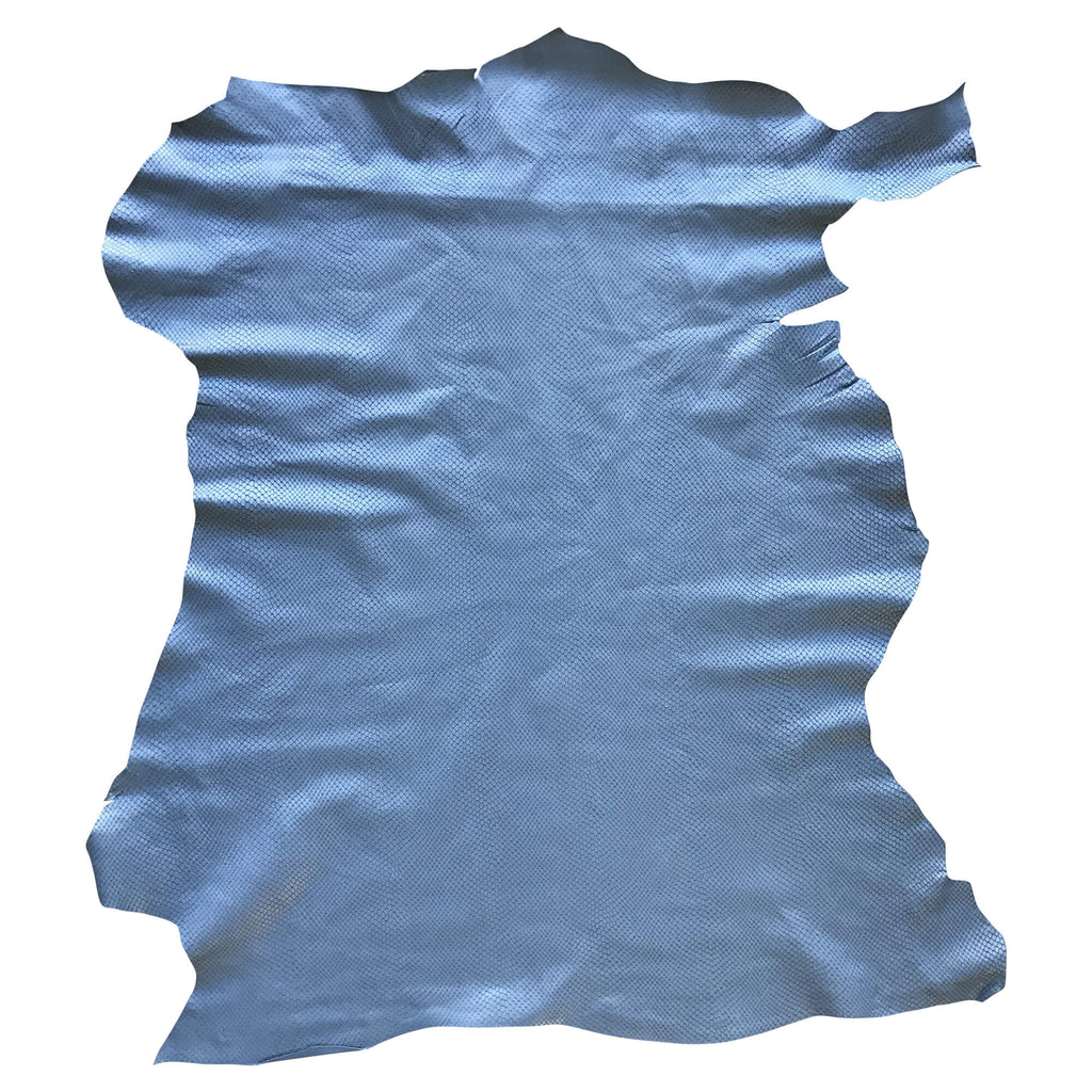 Sale Genuine Blue Leather Hides for Sewing Projects