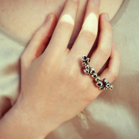 Tubelet Fungi Knuckle Ring