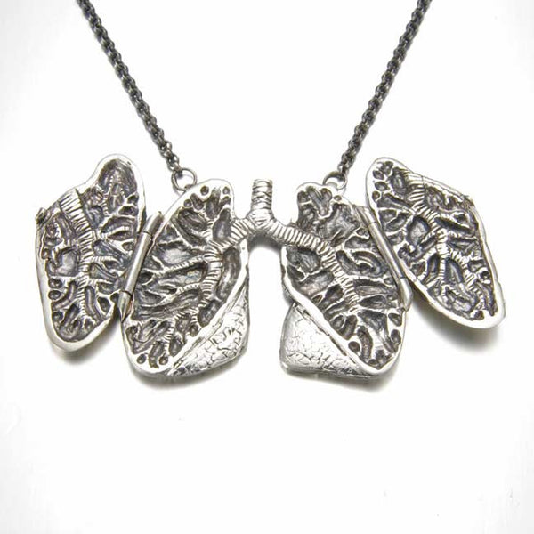 Anatomical Lung Locket