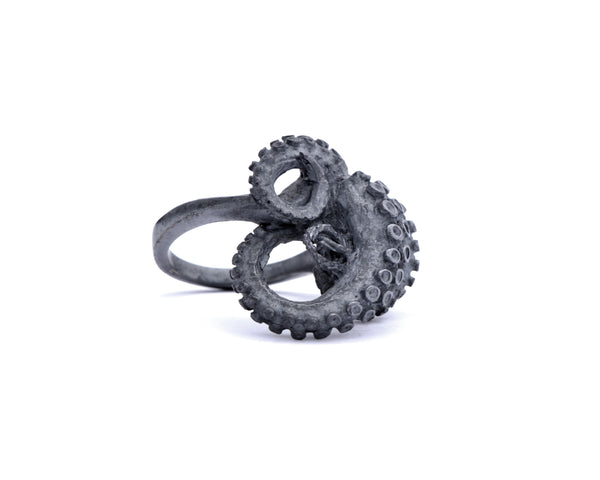 Original Tentacle Sculpture Ring