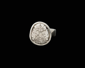 Anatomical Brain Cross Section Signet Ring
