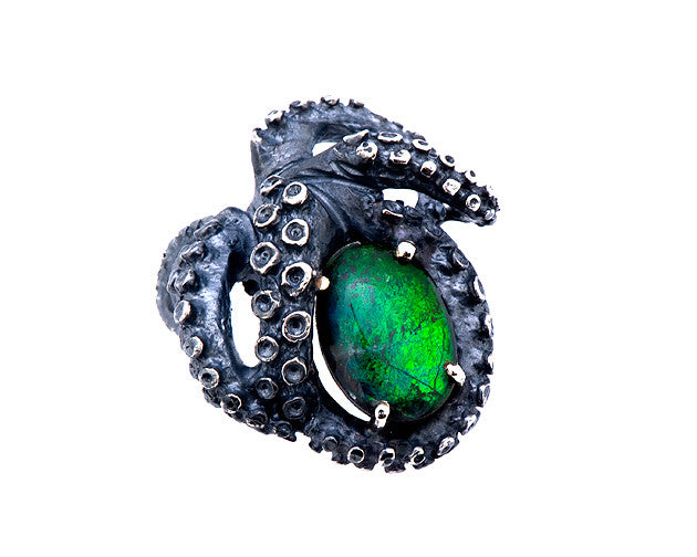 Ammonite Tentacle Ring