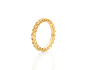Honeycomb Slim Eternity Band