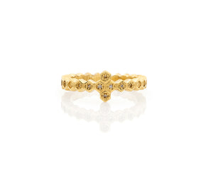 Honeycomb Compass Ring