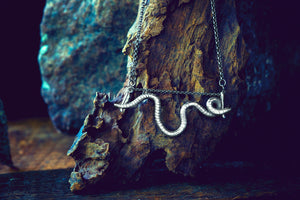 Floating Nightcrawler Necklace