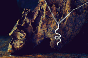 Earthworm Necklace