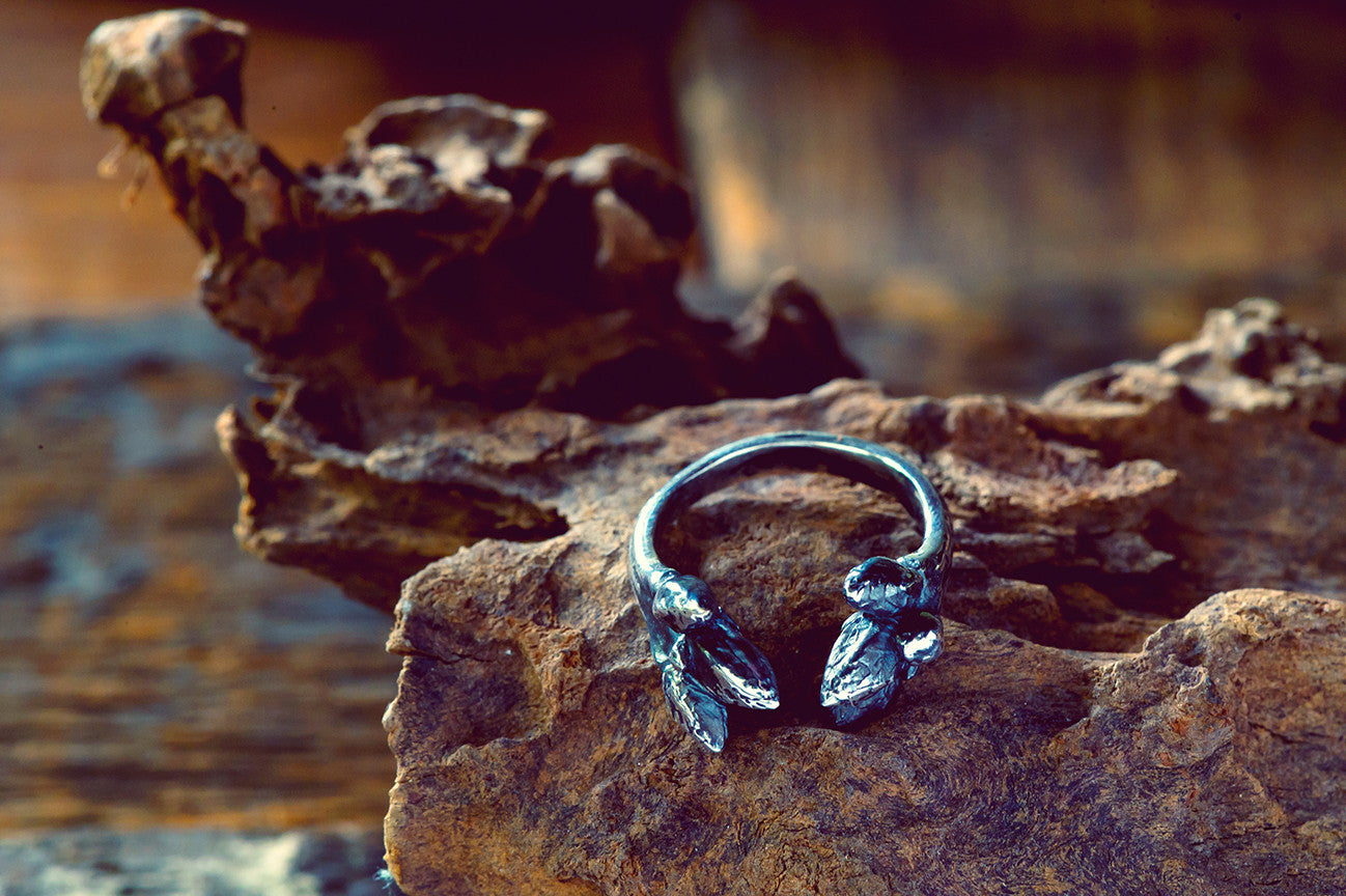 Oak Sapling Spike Ring