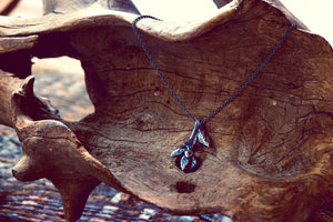 Oak Sapling Spike necklace