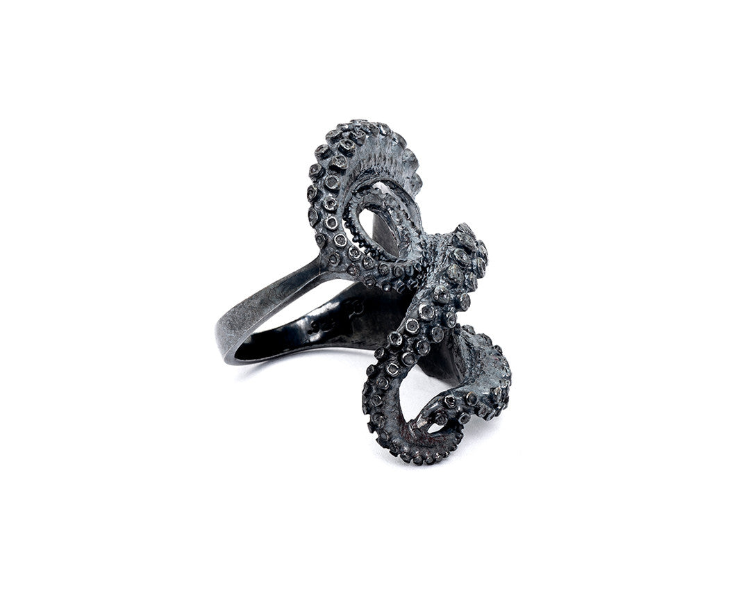 Tentacle Sculpture Ring II