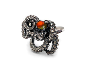 Ammonite Tentacle Ring III