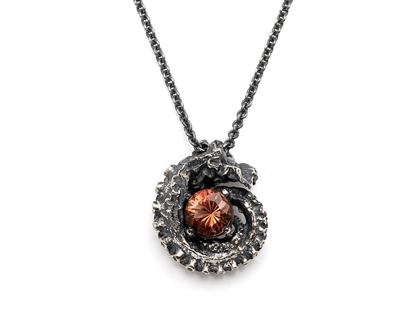 Sunstone Tentacle Necklace
