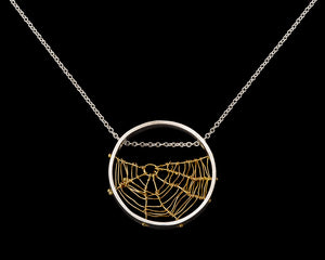 Gold Orbweaver Circle