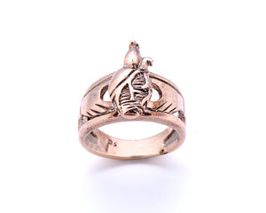 Anatomical Claddagh Ring