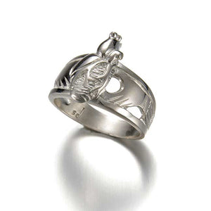 claddagh ring, cladagh ring, heart ring, heart in hands ring, silver ring, commitment ring, wedding band, alt wedding band, handmade recycled silver, hand engraved, engraved wedding band