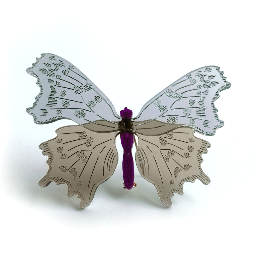 butterfly / brooch