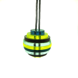 Sphere / Yellow, green