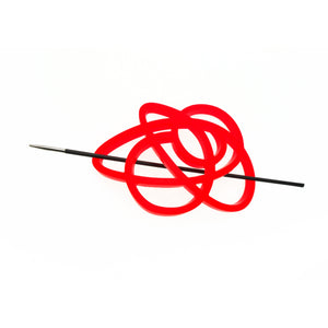 squiggle brooch