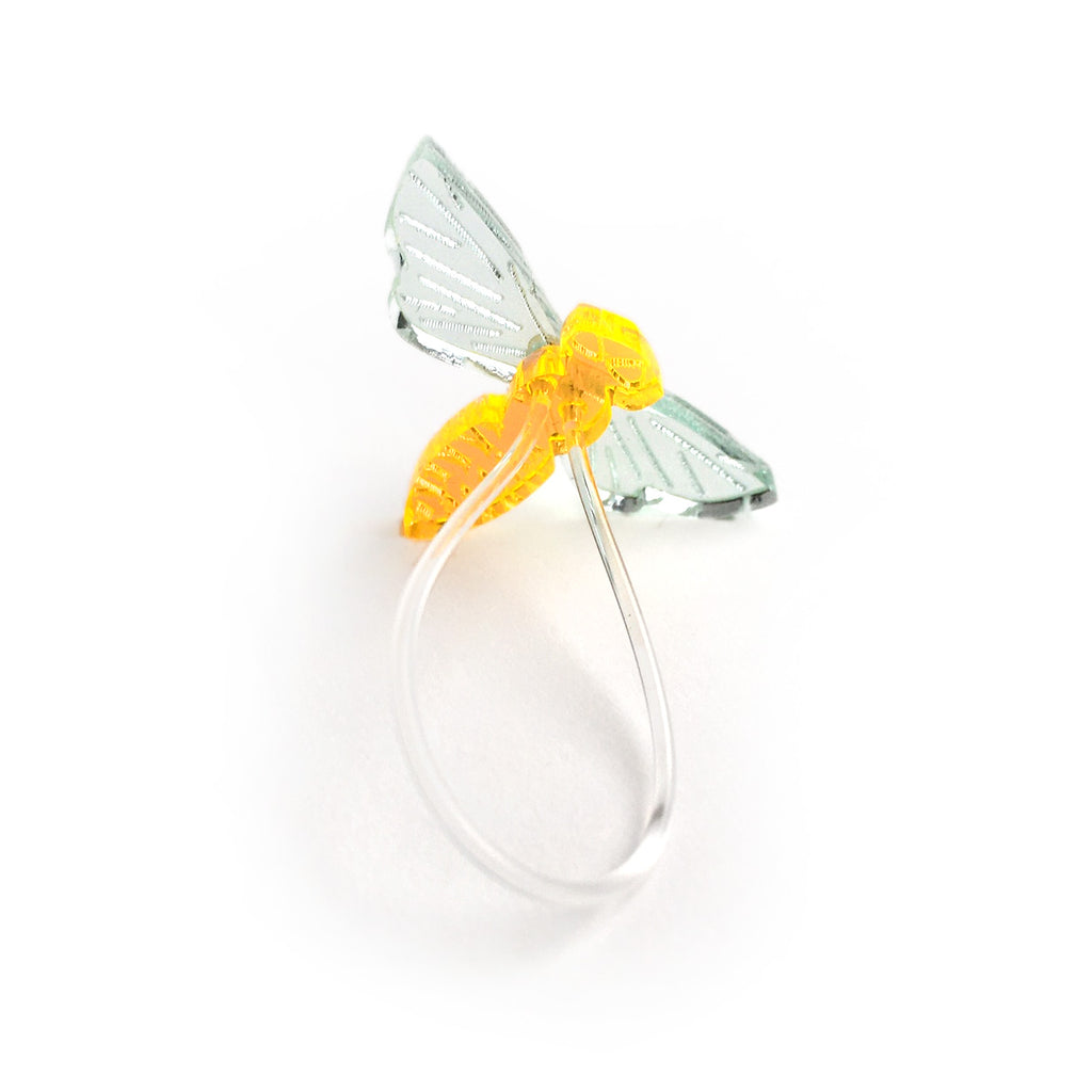 Insect ring / Fly neon