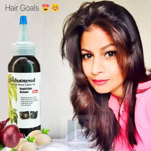 How to use black castor oil for fast hair growth
