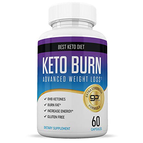 Best Keto Pills - Weight Loss Supplements to Burn Fat Fast - 60 Capsules