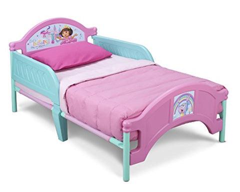 Delta Children Plastic Toddler Bed, Nick Jr. Dora The Explorer