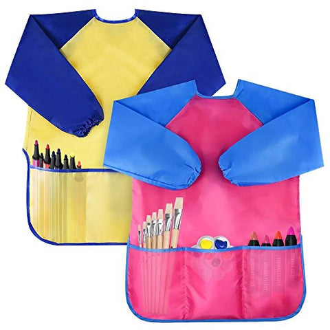 Pack of 2 Waterproof Artist Painting Aprons