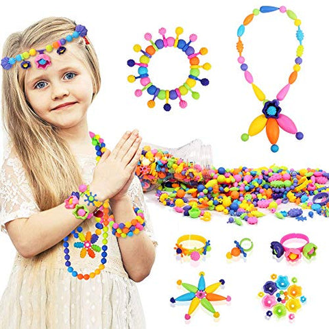 300 Pcs Pop Snap Beads Set
